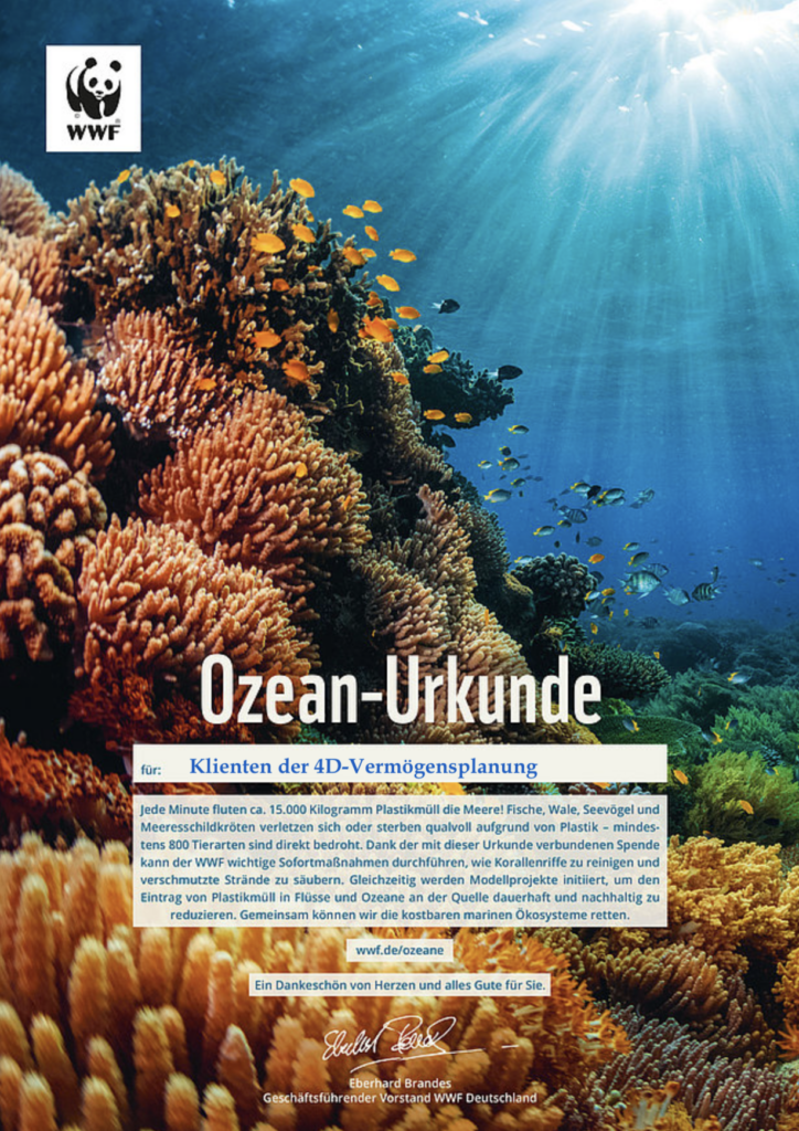 Rettung der Ozeane